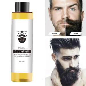 1pcs 30ml Beard Oil Mokeru 100% Organic Beard Oil Hair loss Products Spray Beard Growth Oil For Growth Men Beard Grow Pro