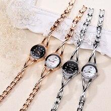 Luxury Fashion Quartz Watch Ladies Stainless Watches Steel Women Rhinestone Bracelet Wristwatches