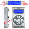 Hot Sale Pro 1PC Silver HP2 Hurricane Digital Dual LCD Display For Tattoo Power Supply Free Shipping