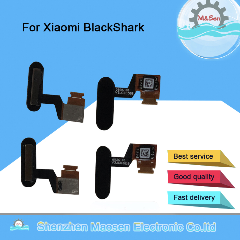 Original M&Sen For Xiaomi Black Shark BlackShark SKR-A0 SKR-H0 Fingerprint Scanner Home Button Flex CableTouch Sensor Key tools