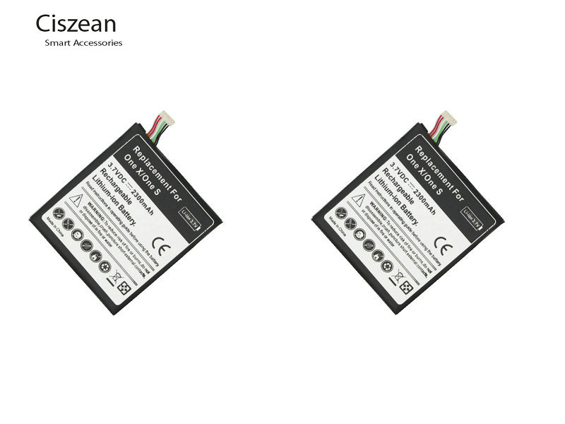 Ciszean 2Pcs/lot 2300mAh BJ83100 Replacement Li Polymer