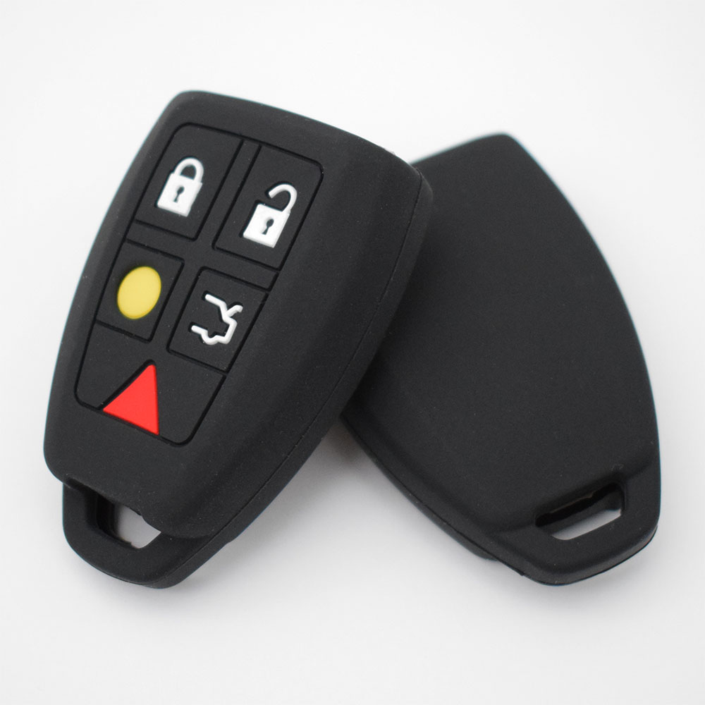 Image 5 - Silicone Car Key Case For Volvo C30 C70 S40 V50 2004 2005 2006 2007 Cover Remote Fob Shell Jacket Sleeve-in Key Case for Car from Automobiles & Motorcycles