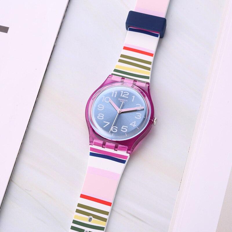 Swatch watch Classic color password series Quartz men's and women's watches GP153 цена и фото