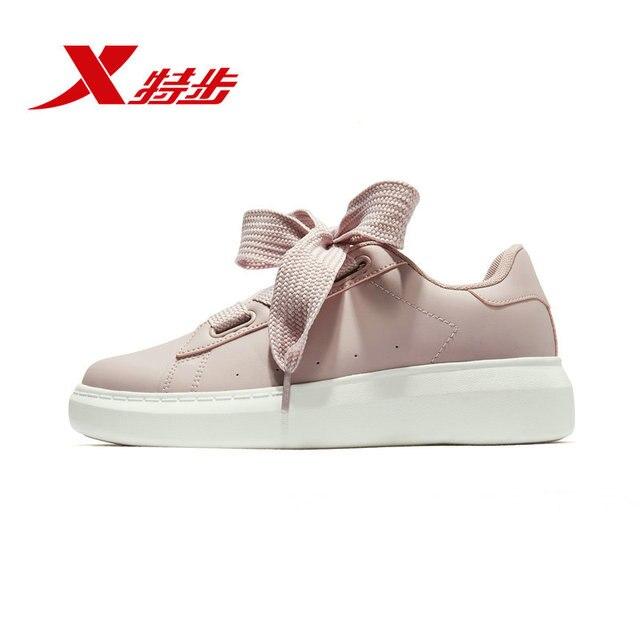 cb777e2f39 881118319252 Xtep zapatos casuales de Mujer Zapatos de lazo ancho 2018  zapatos deportivos de tendencia