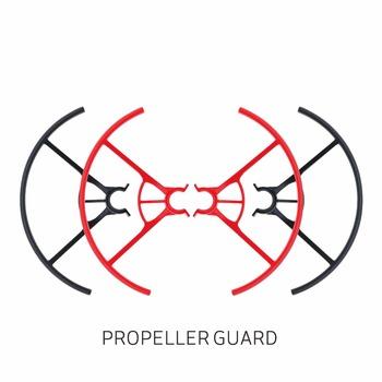 Tello śmigło pokrywa ochronna ostrze prop osłona ochrona rekwizytów dla RC DJI dron Tello akcesoria do zabawek czerwony czarny tanie i dobre opinie Drone pudełka Caden