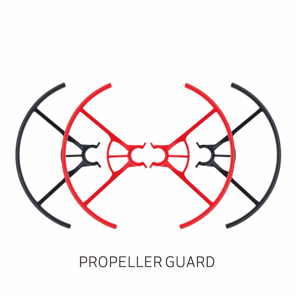 Tello Propeller Protection Cover Blade Prop Guard Prop Protector For RC DJI TELLO Drone Toy Accessories Red / Black