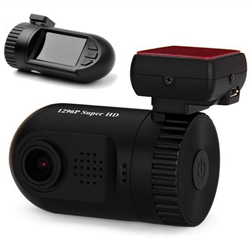 New MINI 0805 Car DVR 1.5 Inch TFT Screen 1296P HD Resolution 150 Degree Wide Angle Lens GPS Camcorder Support USB 64GB Dash Cam