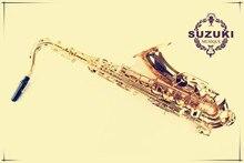 Verschiffen DHLSpecial verkauf von original authentische Japanische tenorsaxophon oberfläche elektrophoresegeräte Gold Professionelle