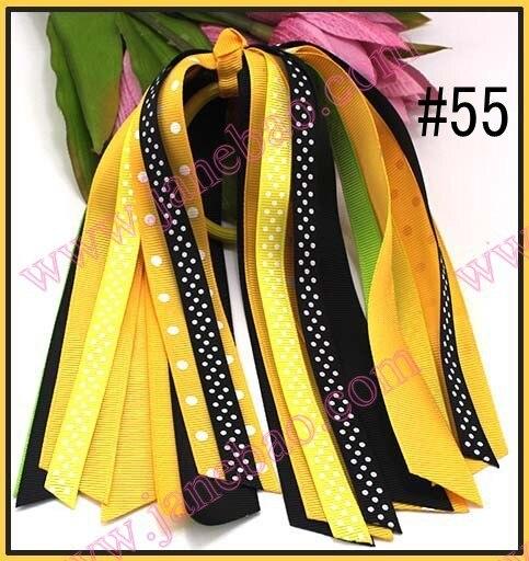 110 шт. хвост о волосы бант хвост растяжки популярные волосы луки держатель хвост Луки аксессуары для волос