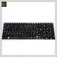 Французская клавиатура для acer стремятся стартовый ES1-512 ES1-711 ES1-711G E5-721 E5-731 E5-731G E5-771 E5-771G Черный FR AZERTY клавиатура