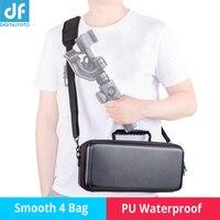 PU waterproof /Nylon smooth 4 bag carrying case portable handbag shoulder bag for zhiyun smooth 4 gimbal shooting outside