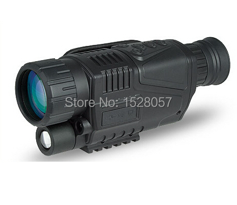 Инфракрасный цифровой ночного видения монокуляр сфера 5x40 200 метра, зум 5X, ИК, 5MP Цифровая видеокамера в ПЗС! Бесплатная доставка DHL!