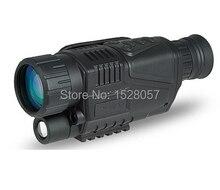 Numérique infrarouge de vision Nocturne monoculaire portée 5×40 pour 200 Mètre, zoom 5X, IR, 5MP appareil photo numérique vidéo dans CCD!! DHL gratuit!