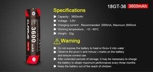 Image 4 - 2pcs KLARUS 18650 3600mAh 18GT 36 3.6V  Li ion Battery high performance 18650 li battery