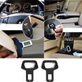 2pcs Automobiles Safety Belt Fasteners Auto Buckle Dual-usage Seat Belt Clips for Cars Beer Soda Bottles Opener DXY88