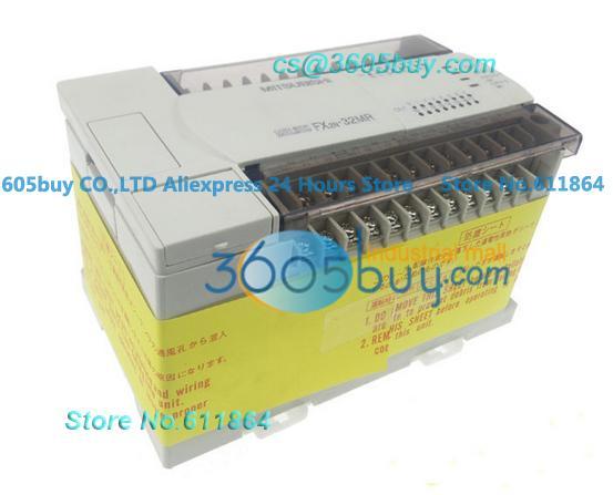 PLC programmable logic controller Main Unit DI 24 DO 24 Transistor AC 220V fx2n-48mt-001