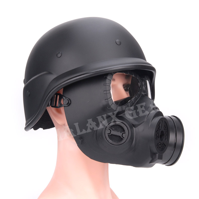 88helmet & Tactical Half Face Metal Mesh green Protective Mask twoitems include for hunting airsoft paintball