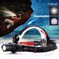 New High Quality Adjustable Focus 2000 Lumens CREE Q5 LED Headlamp Head Light For 18650/AAA