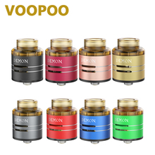 100% Original VOOPOO DEMON RDA Atomizer 24mm Diameter RDA Tank with A Food-grade PEI Drip Tip Single/Double Coils E-cig Atomizer