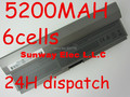 5200MAH replacement laptop battery for Dell R839C,R840C,R841C,U444C,W341C,W343C,W346C,X595C,X784C,Y082C,Y084C,Y085C