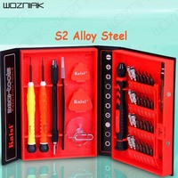 Wozniak 38 In 1 Screwdriver Set Precision Repair Disassemble Tools Kit S2 Alloy Steel Material For Phone Computer Crowbar