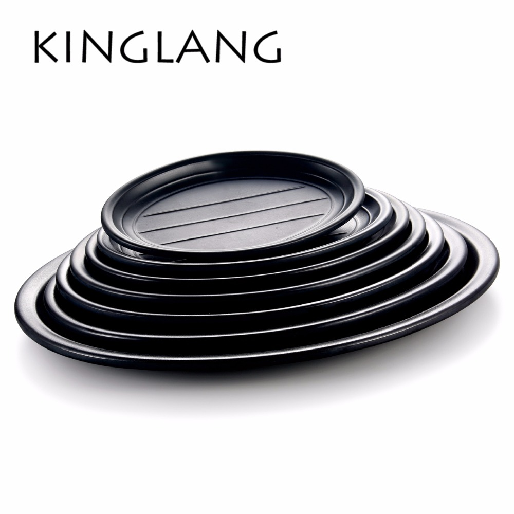 Multi function classical oval serving plate for restaurant hot sale cheap plastic dish many sizes for wholesale