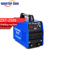Welding Machine ZX7 250S 220V 380V 39A Dual Power Inverter DC Dual Voltage Standard Configration