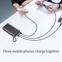 Universal Power Bank 20000 mah - USB PD fast charging Power Bank - Quick Charge 3.0 Power Bank 18W 6
