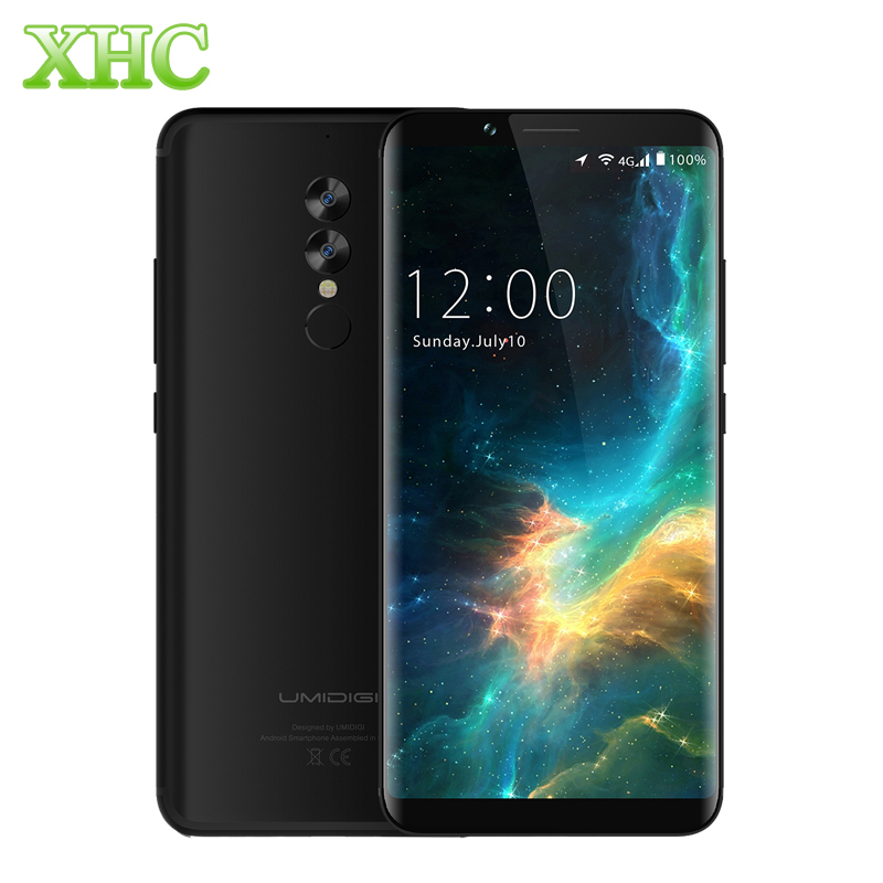 UMIDIGI S2 Lite 6.0'' 18:9 Display Smartphones 5100mAh 4GB+32GB Octa Core 16MP+5MP Android 7.0 4G LTE OTG Dual SIM Mobile Phones