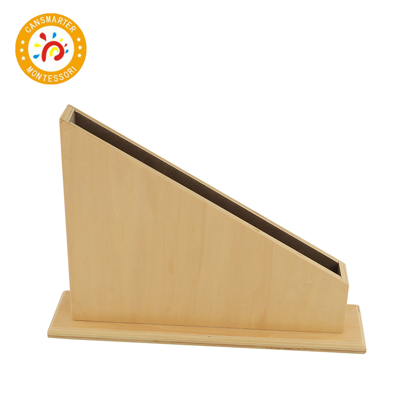 Montessori Material Wood Stand For Numerical Rods Children Toy Math Baby Teaching Aid