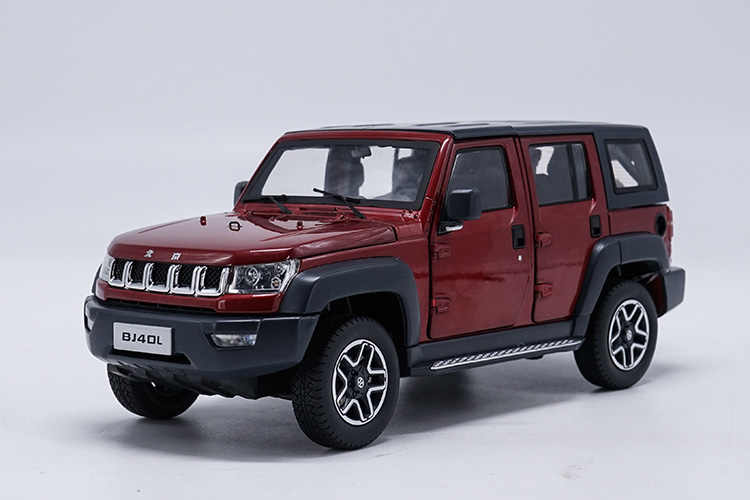 1 18 Diecast Model For Baic Beijing Jeep Bj40l Bj40 Red Suv Roof