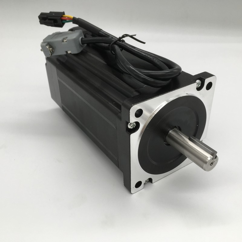 3PCS NEMA34 86mm 12Nm 1714Oz-in DSP Closed Loop Hybrid Stepper Motor &Drive Kit Easy Servo for CNC With Coolling Fan