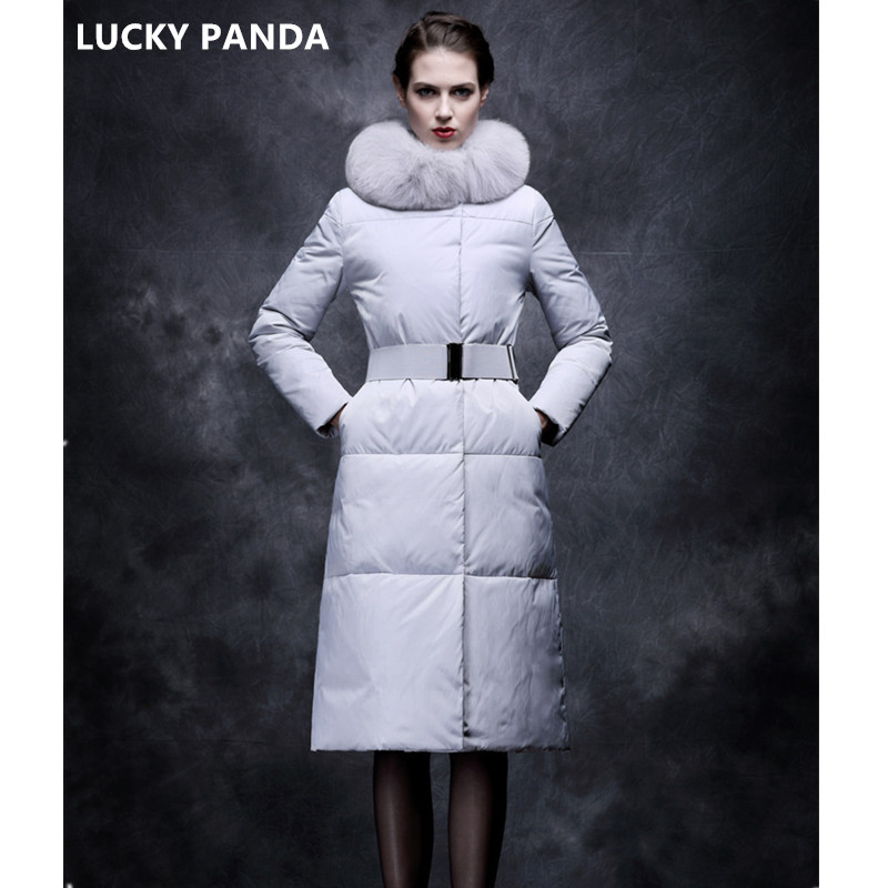 Lucky Panda 2016 New fashion Winter Women padded Jacket Slim long Down cotton Wadded Coat Women Hoodies Parkas Plus Size LKP306 lucky panda 2016 the new winter coat and female slim in the long and small lattice fragrant cotton lkp243