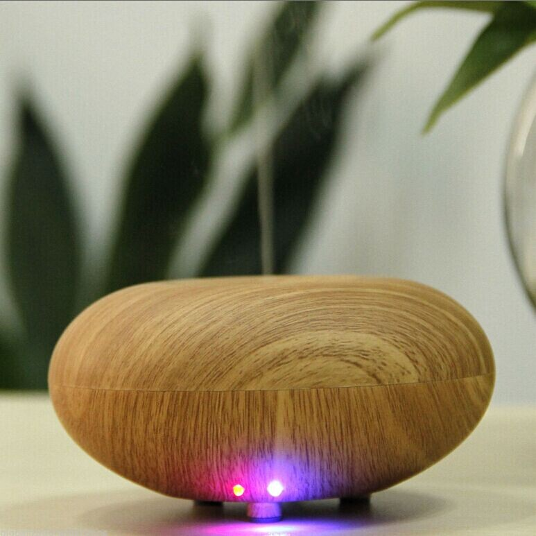 Essential Oil Diffuser Aroma Diffuser Ultrasonic Humidifier Mist Maker Aromatherapy Air Purifier Woodgrain# humidifier essential oil diffuser portable home woodgrain grain aroma cool mist mini humidifier maker aromatherapy air purifier