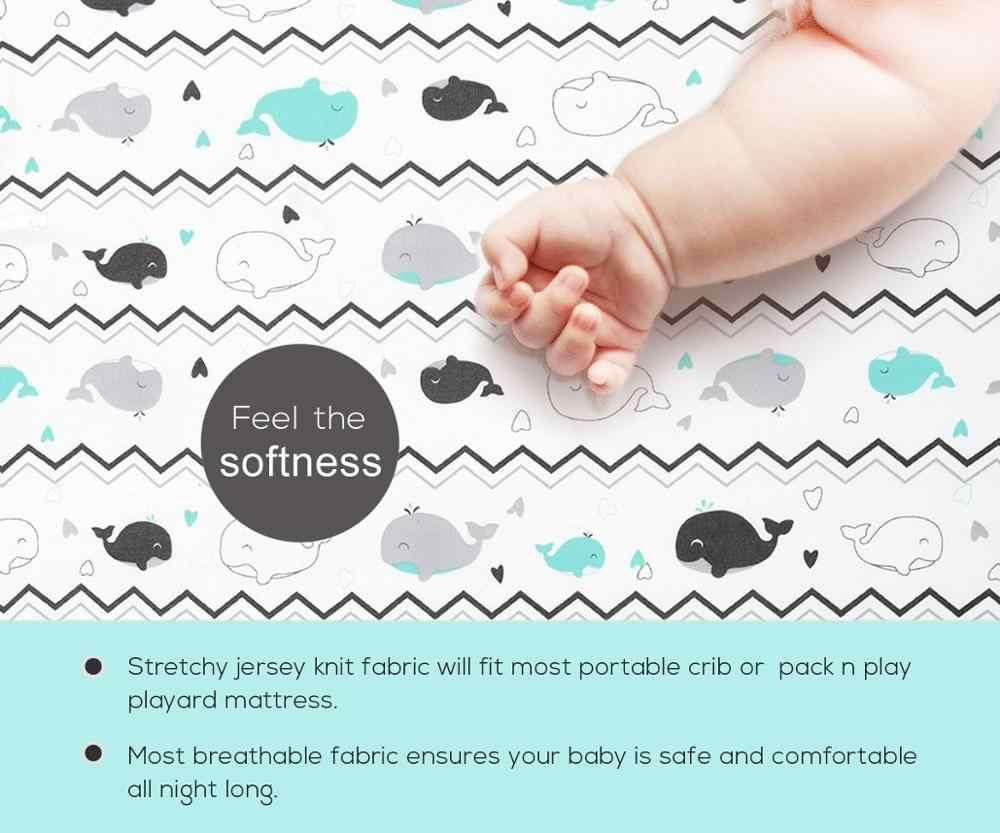 Кровать для новорожденных мат 100% хлопок кроватки простыня мягкая детская кровать защитный чехол для матраса мультфильм постельные принадлежности для новорожденных для кроватки