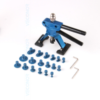 21 Pieces Set Panel Dent Repair Tool Auto Dent Puller PDR Tool With 18 Pcs Glue