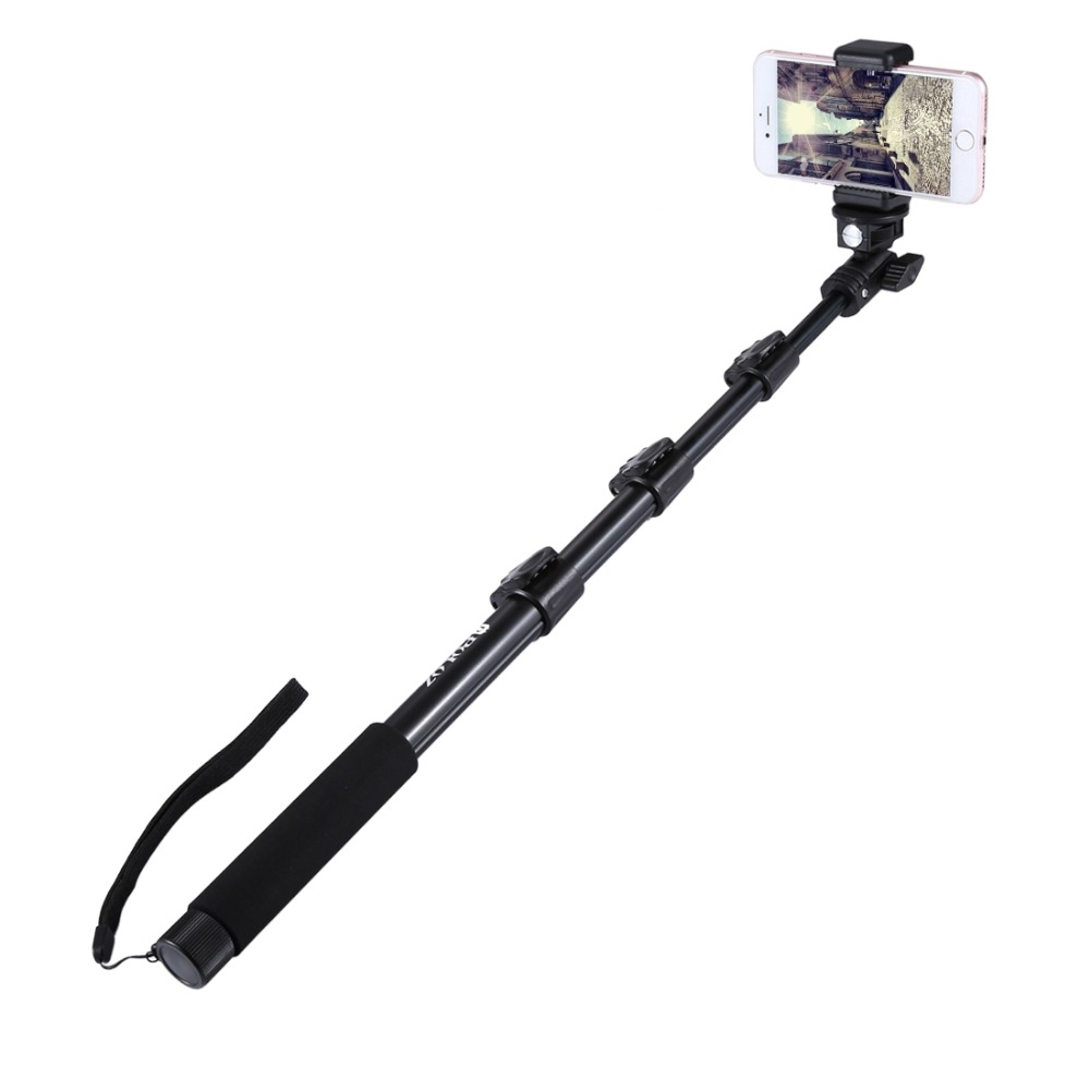 For Go Pro Accessories Extendable Adjustable Pole Handheld