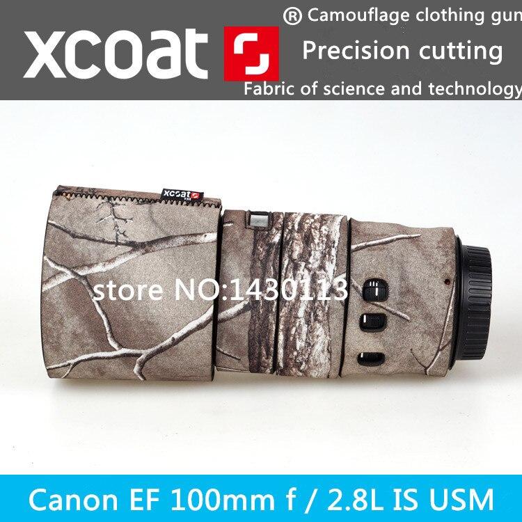 For Canon lens protective case guns clothing EF 100mm f 2 8L IS USM lens SLR