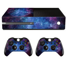 Vinyl Skin Sticker Cover Skin Decal Sticker Cover Protector Wrap For Xbox One Console+2 Controller Gamepad Gamepad Protective(China)
