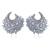 Mulheres Brinco banhado a ouro com branco CZ Brincos flor estilo Clássico brinco de moda de nova jóias transferência gratuita