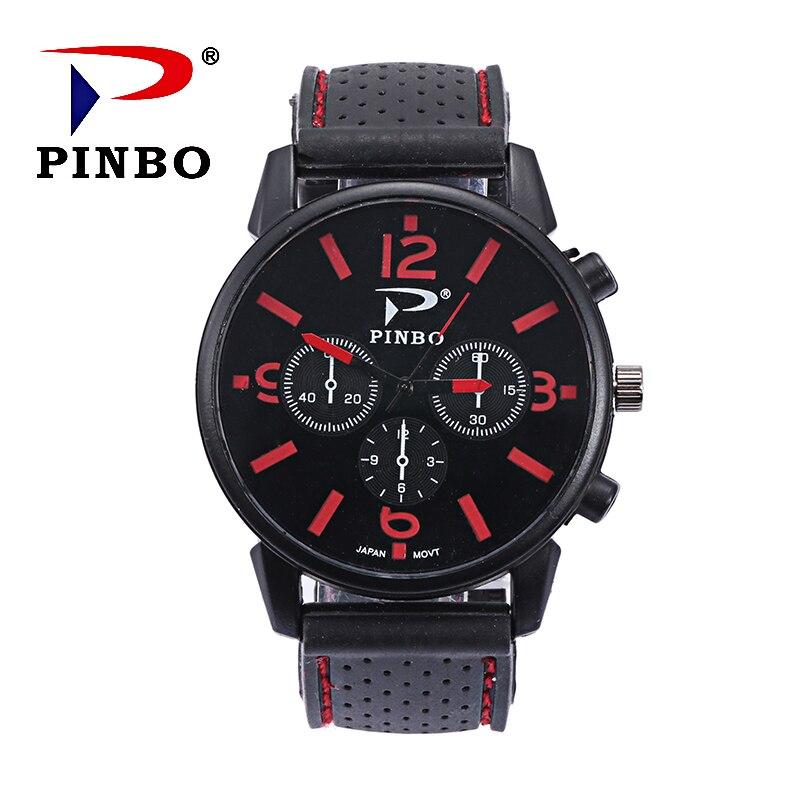 Erkek saatler New Top Brand outdoor sports Men Watch Casual Silicone Quartz Watches military watch relogio masculino Clock