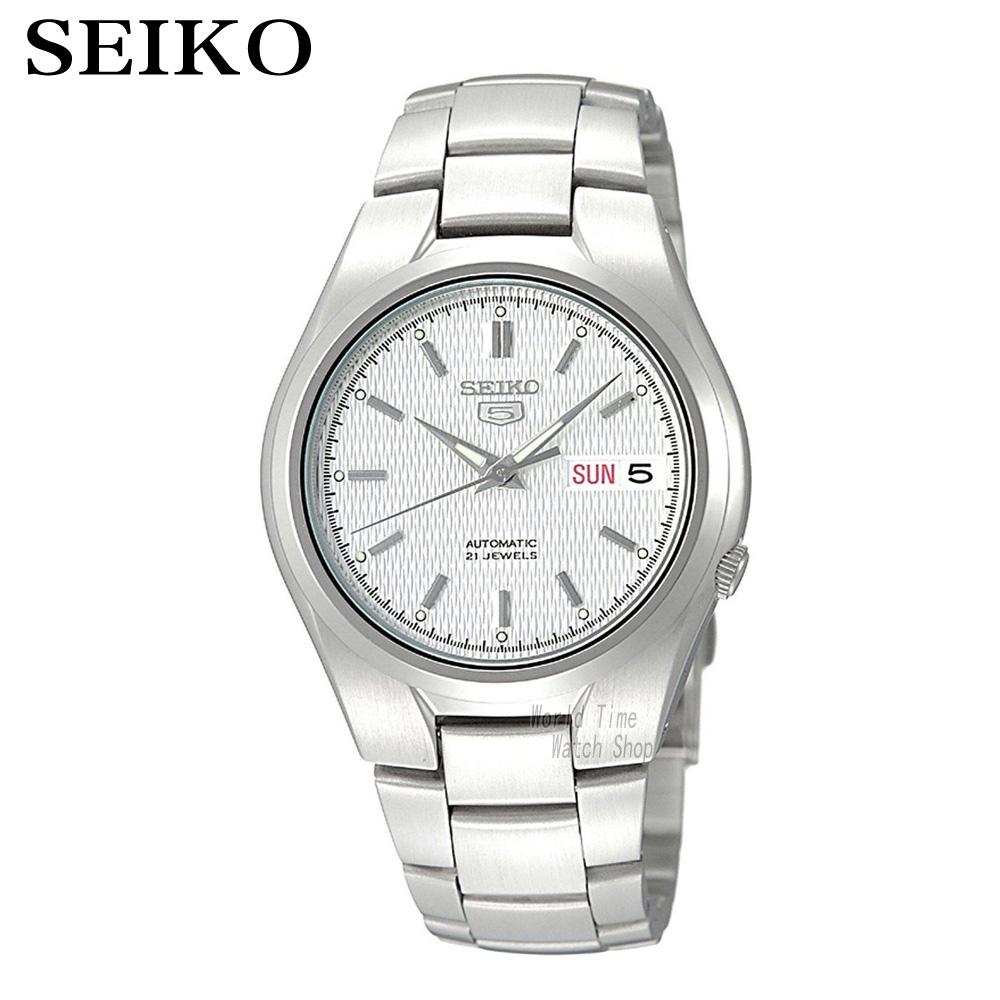 лучшая цена SEIKO Watch No. 5 Automatic Fashion mechanical watch male watch SNK605K1 SNK601K1 SNXG47K1