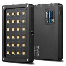 Viltrox RB08 דו צבע 2500K 8500K מיני וידאו LED אור נייד למלא אור מובנה סוללה עבור טלפון מצלמה YouTube חי