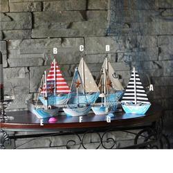 Enfeite de madeira para decoração, artesanato, vela náutica, barco, decoração de mesa, presente de natal