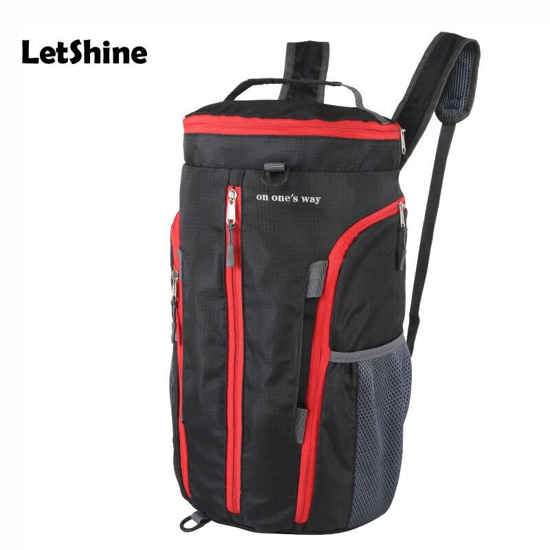Sports Folding Backpack Sport Bag Shoes Messenger font b Football b font Basketball Fitness Sports Mulitifunctional