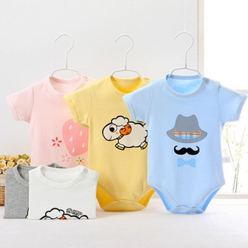Baby Bodysuit Newborn Body Suit Fashion Summer Baby Children Girl Boy Long Sleeve Baby Toddler Jumpers Infant Bodysuit