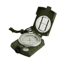 Professional Military Army Geology Compass Sighting Luminous Navigation Compass with Moonlight for Outdoor Hiking Camping Travel alecia m spooner geology for dummies