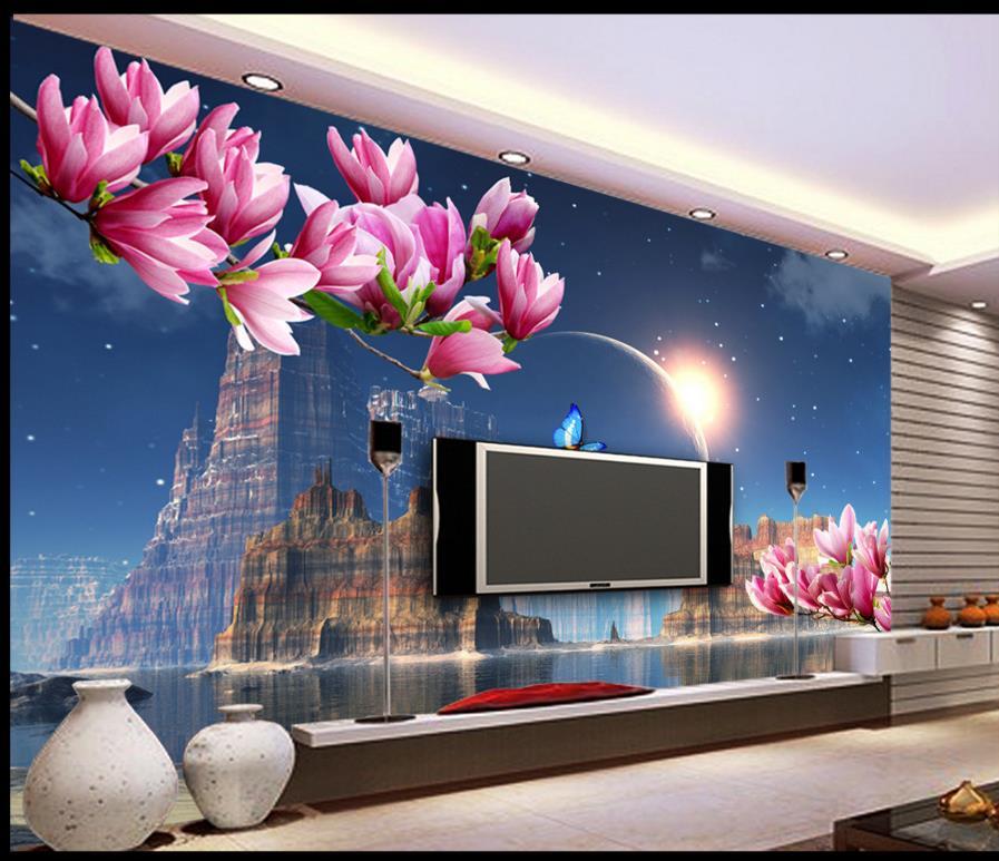 custom d papel pintado paredes moderna de la foto d murales de papel tapiz para el
