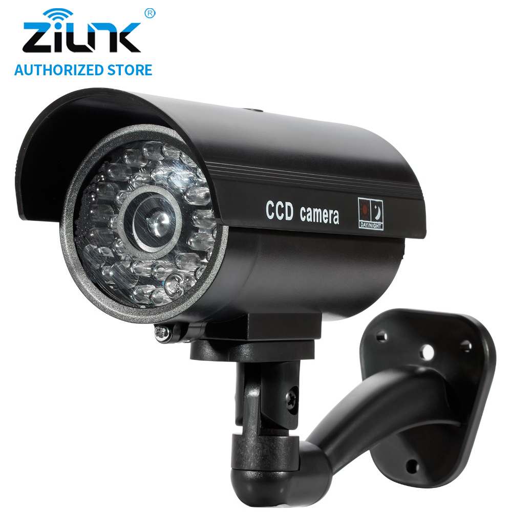 zilnk Dummy Outdoor Security CCTV Surveillance Camera