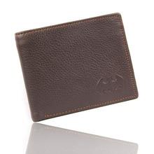 Genuine Leather Men Wallet Batman Casual Purse Card Holder